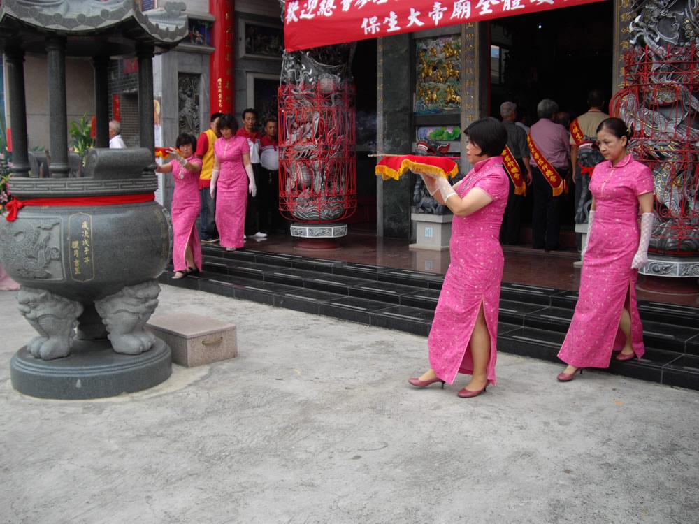 100參訪台南新化保生大帝廟