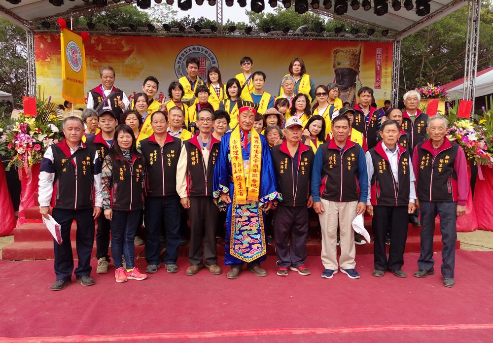 107參加保生大帝廟宇聯合總會成立大會
